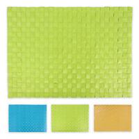 4 x Tischset 30 x 43 cm Platzset Platzdeckchen Tischmatte abwaschbar 3 Farben
