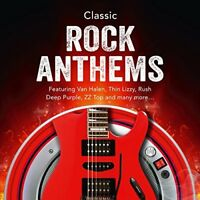 Classic Rock Anthems 3 CD Album Van Halen Thin Lizzy Rush Deep Purple