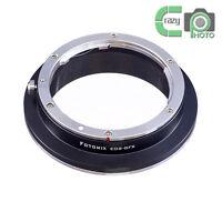 FOTOMIX EOS-GFX Lens Adapter for Canon EF to Fujifilm GFX Medium Format Camera