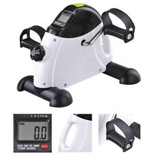 Portable Mini Pedal Exerciser Arm/Leg Fitness Exercise Bike Lcd Workout Stepper