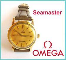 Vintage OMEGA Seamaster Cal 520 - CIOCCOLATONE DIAL - Steel & Goldplated WORKING