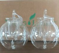NIB Young Living Christmas Ornament 2 Pack Diffuser Clear Glass NEW