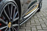 CUP Seitenschweller Schweller aus ABS für Renault Clio 4 GT + GT-Line