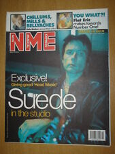 NME 1999 MAR 13 SUEDE FLAT ERIC KULA SHAKER SPRINGFIELD