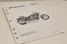 2004 VTX1800C VTX1800 GENUINE Honda Factory SETUP INSTRUCTIONS PDI MANUAL S0208