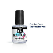 INM Out The Door Fast Drying Nail Top Coat 0.5oz / 15ml