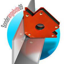 4 Stück Magnethalter Magnet Winkel Schweißwinkel Magnet big Schweißer 15,6x10cm