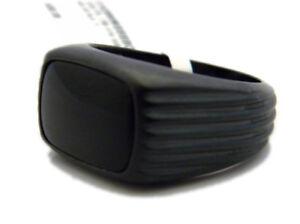 David Yurman S.8 10mm Royal Cord EW Signet Ring Black Onyx Black Titanium NWT