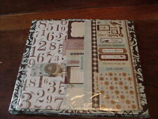 Complete Scrapbook Kit, Colorbok, Book, 16 sheets paper, accents, stickers+ NIP