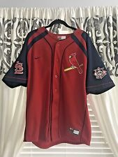 Vintage ST LOUIS CARDINALS Albert Pujols #5 Jersey RED Nike Mens L Size LARGE