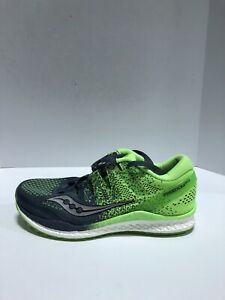 Saucony Freedom Iso 2 Mens Running Shoes Green 8 D