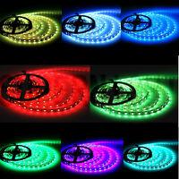 Flexible 16.4ft 5M 300leds 5050 SMD LED Strip Light IP65 Waterproof --RGB Color