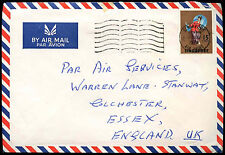 SIngapore 1970 Commercial Airmail Cover To UK #C37858