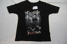 WESTLIFE FOREVER 3/4 RAGLAN LADIES SKINNY T SHIRT SMALL BNWT OFFICIAL BACK HOME