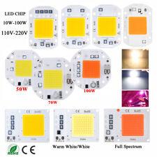 High Power LED Chip 10W 20W 30W 50W 100W weiß 230V 220V RGB Aquarium LED DIY COB