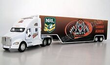 KENWORTH Diecast T Series Truck Trailer 1:66 Scale Wests Tigers Graphics