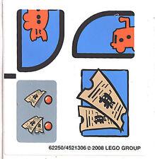 LEGO Stickers 3830 The Bikini Bottom Express SpongeBob Squarepants NEW
