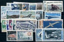 TAAF 1956-1969 2-7, 28-29 etc * SAMMLUNG mit guten WERTE TADELLOS (G0563