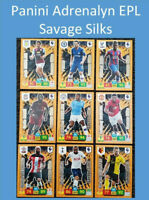 2019/20 Panini Adrenalyn XL EPL Soccer Cards - Savage Silks - Buy 3 Get 2 FREE