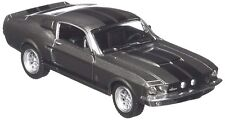 Scale 1/38 1967 Ford Shelby Mustang GT-500 Diecast Car Pull Back Action Grey