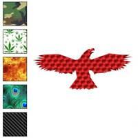 Eagle Hawk Vulture Decal Sticker Choose Pattern + Size #251