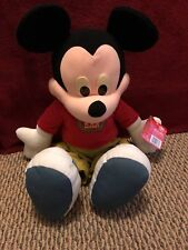 """2000 Toys R Us Fisher Price 24"""" Jumbo Plush Mickey Mouse with Tags"""