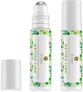 Anti-Pollen Rollerball 10ml- Hayfever- Handbag Friendly-Summer Essential- Aromat