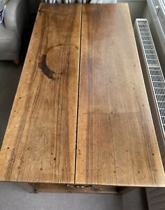 Antique Refectory Table Kitchen Table