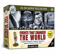 Events That Changed the World, 16 CDs/4 DVDs, Greatest Moments/Darkest Tragedies