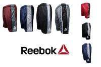 Reebok Men's Mesh Gym Shorts Training Workout Performance Basketball Shorts