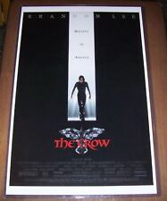 The Crow 11X17 Movie Poster Original Version Brandon Lee Rochelle Davis