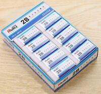 2X Soft Rubber 2B Pencil Eraser For Writing School Nursery Gift  Stationery