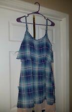 JR L wallflower Plaid dress nwt