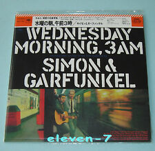 SIMON & GARFUNKEL WEDNESDAY MORNING, 3 AM JAPAN mini LP CD brand new & ss