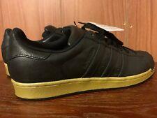 Adidas SuperStar Shell-Toe BB8119 Black Gold Metallic size US 10