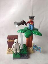 LEGO Duplo Piraten Schatzsuche - Set 7883 - Schatzinsel - Pirat - Skelett - TOP