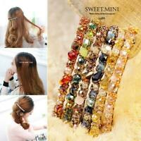Fashion Women Hair Accessories Crystal Hairpin Hair Clip Bobby pin Barrette Gift