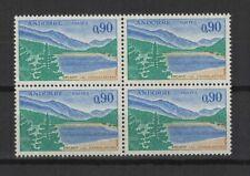 Andorre Français 1961-71 paysages 4 timbres neufs /T2383