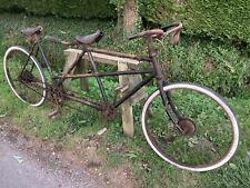 More details for vintage his & hers  tandem .(yard find).