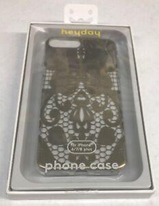 Heyday Apple iPhone 8 Plus/7 Plus/6s Plus/6 Plus Printed Lace Case, Gold Lace