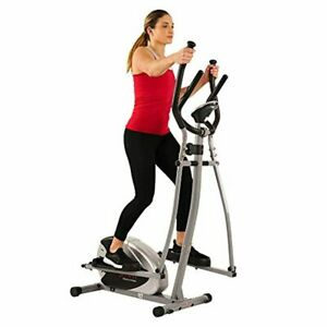 Elliptical Machine Cross Trainer 8 Level Resistance Digital Monitor Pulse Sensor