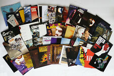 Lot of 45 CD Inserts - ARTWORK ONLY - Green Day, Avril, Nirvana, Lady Gaga