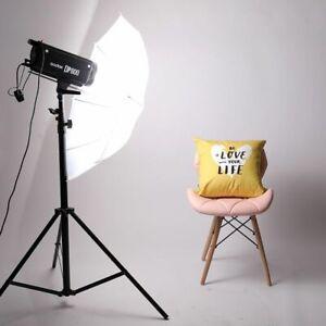Translucent White Soft Light Umbrella Aluminum Shafts Photography Accessories