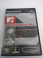 MTV Music Generator 2 Sony PlayStation 2, 2001 Fast and Free