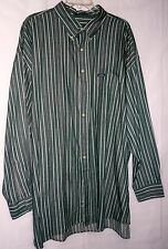 Mens CHAPS RALPH LAUREN Cotton Classic Fit Cotton LS Casual Dress Shirt Sz XXL