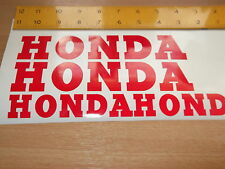 HONDA WHEEL STICKERS *REFLECTIVE * Motorcycle/Motorcross l Sticker Decals X4