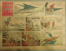 Flash Gordon Sunday Page by Mac Raboy from 1/29/1956 Half Page Size