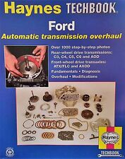 Haynes TECHBOOK 10355 Step-by-Step Overhaul Manual Ford Transmision