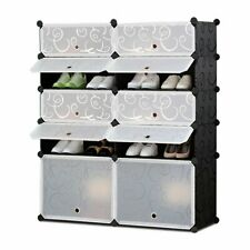 Shoe Rack  Organizer DIY Organizer Portable Shoes Cabinet  Plastic Storage Rack
