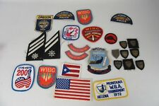 Vintage Lot of 25 Embroidered Patches
